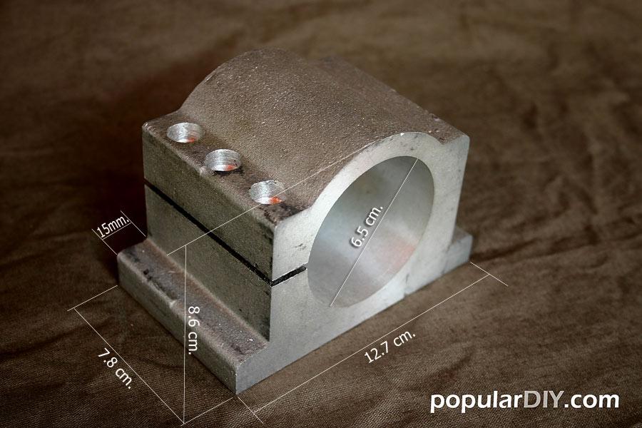 Clamp สำหรับยิด Spindle เส้นผ่าศูนย์กลาง 65มม.