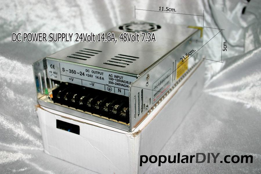 ตัวจ่ายไฟตรง DC Power supply unit.