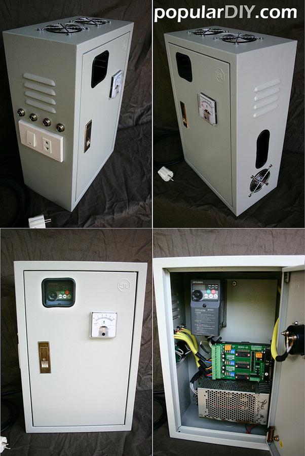 ตู้ Controller บอร์ด 3 แกน พร้อม inverter