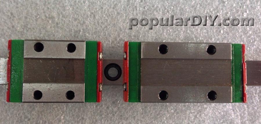 Linear guide bearing แบบเหลี่ยม ขนาด 12 มิล