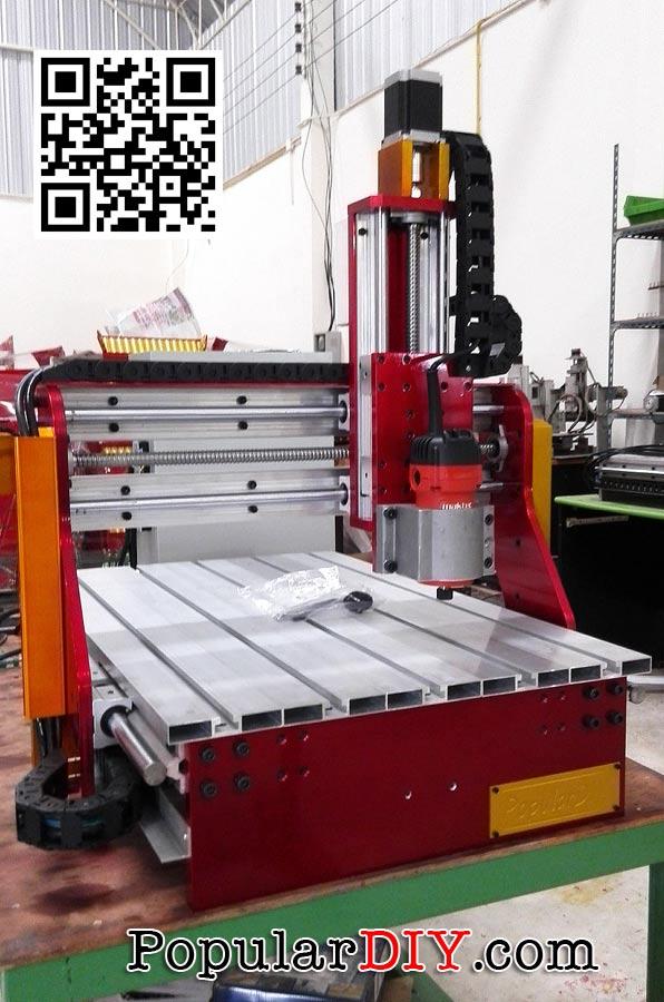 เครื่อง CNC แบบ 3 แกน 40*60  DIY