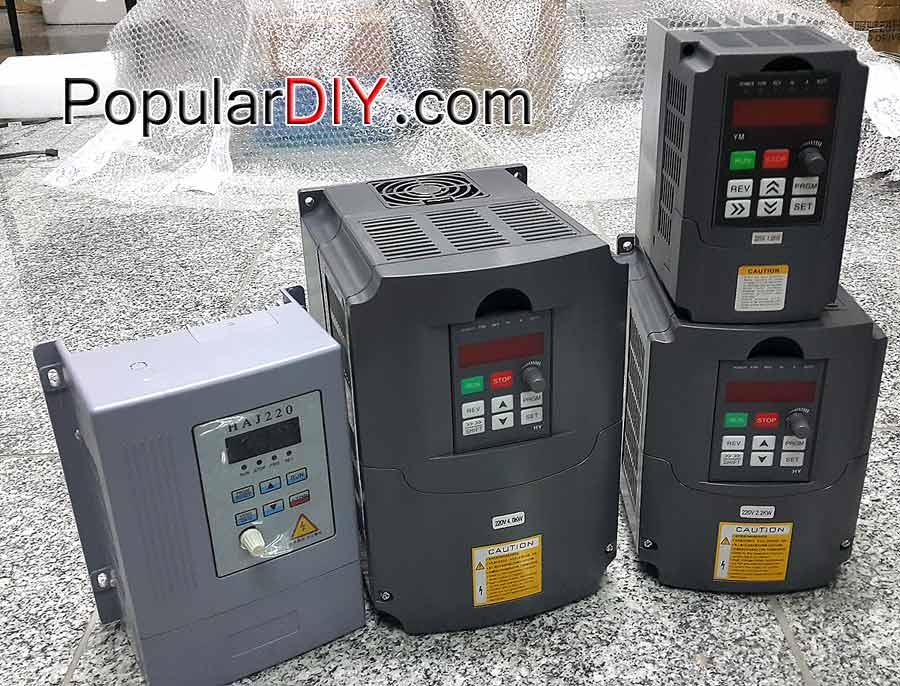 Inverter 0-400Hz Input 220V เฟสเดียว