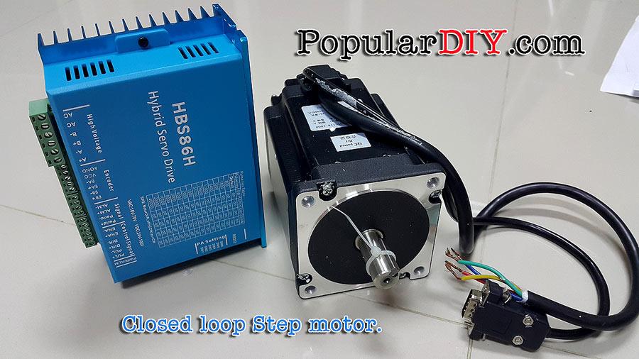 Closed Loop Step Motor Nema34 Torque 8.5 N-m. และ 12Nm. with Encoder