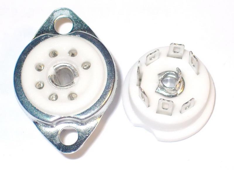 B7G Ceramic Socket 7 Pins