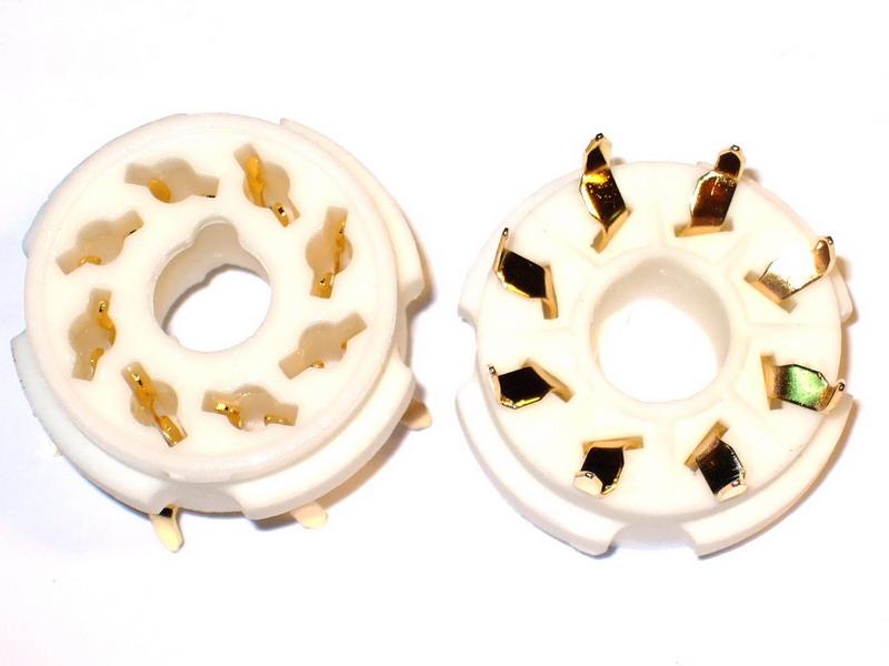A08 Ceramic Socket 8 Pins PCB Gold
