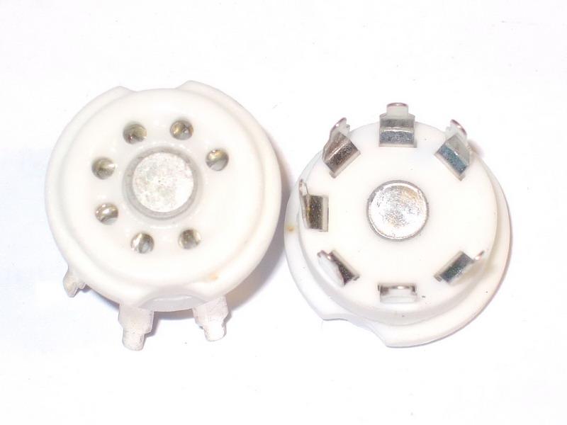B7G Ceramic Socket 7 Pins PCB