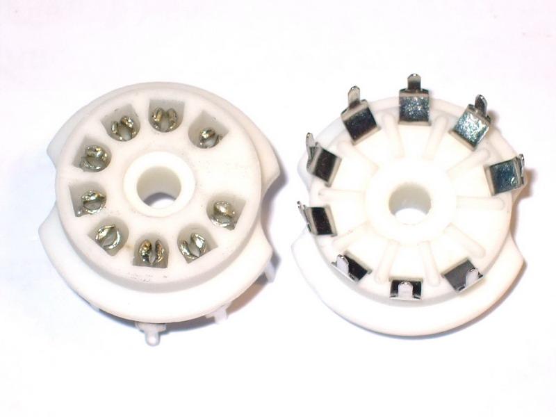 B9A Ceramic Socket 9 Pins PCB