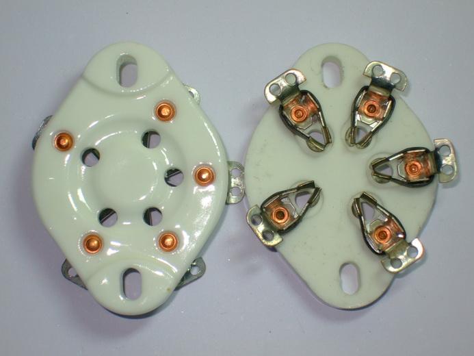 UX-5 Ceramic Socket 5 Pins