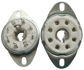 B8B Ceramic Socket Loktal