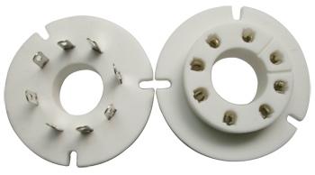 Ceramic Socket 8 Pins GU-50