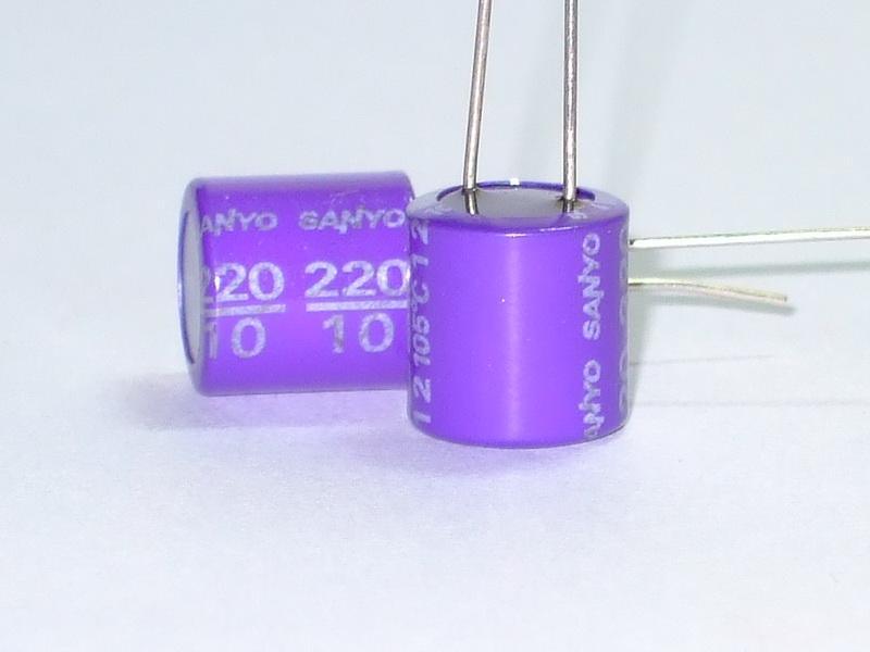 Sanyo OS-CON 220uF 10V