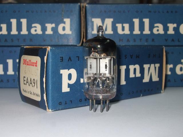 EAA91/6AL5 Mullard