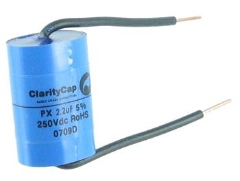Clarity Cap \'PX\' 2.2uF 250V