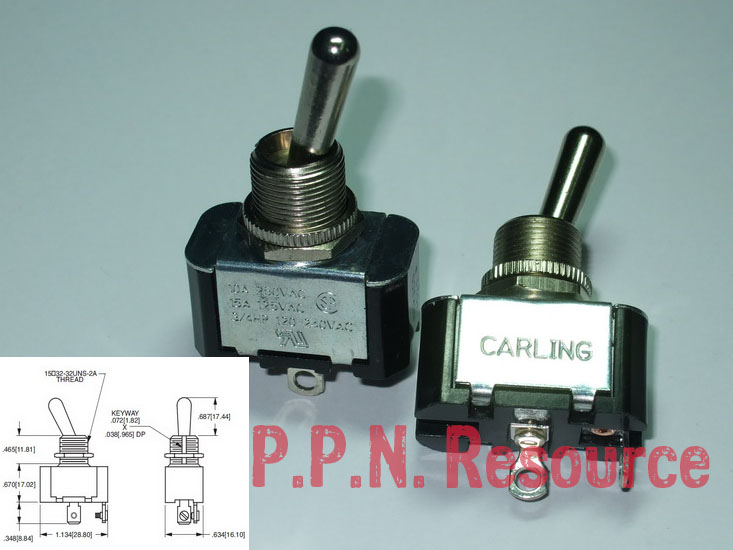 Toggle Switch Carling