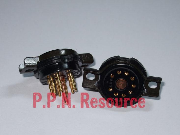 B9A Bekalite Socket 9 Pins CMC