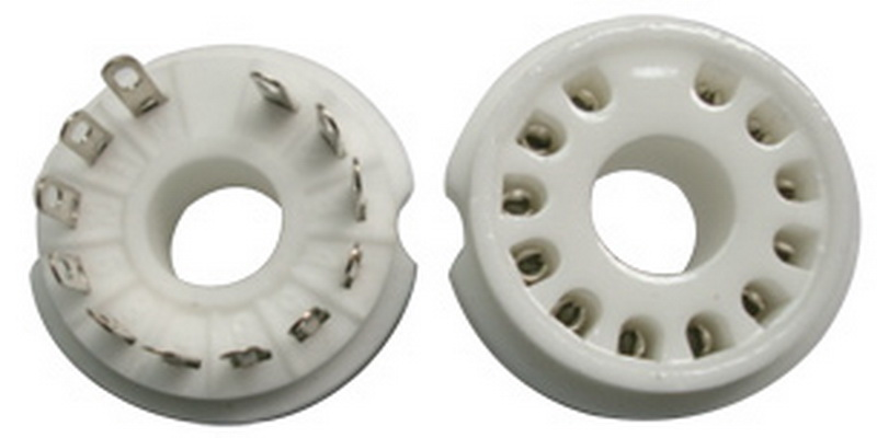 Socket Dekar Compactron 12 Pins