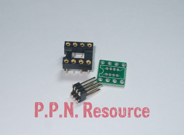 PCB SOIC to DIP