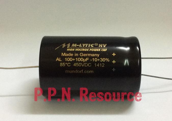 M-Lytic HV 100+100uF 450V