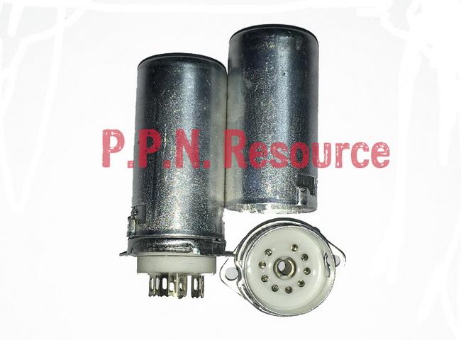 B9A Ceramic Socket 9 Pins shield 55mm