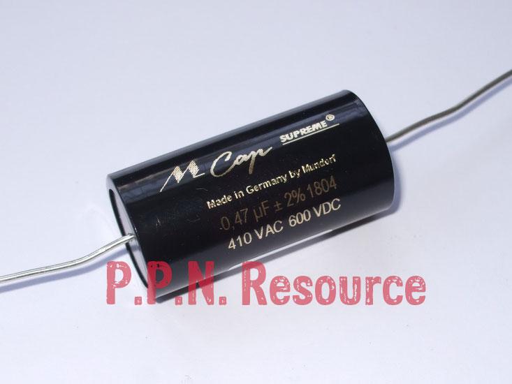 M Cap Supreme 0.47uF 600V