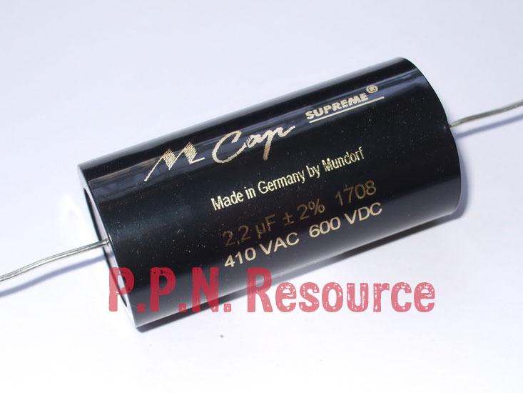 M Cap Supreme 2.2uF 600V