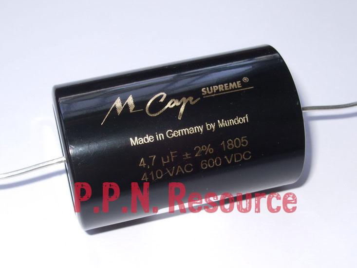 M Cap Supreme 4.7uF 600V