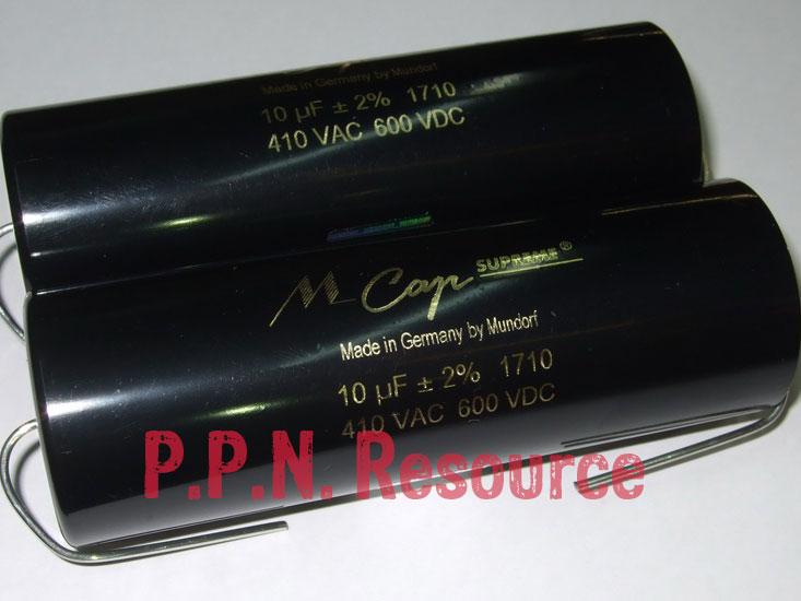 M Cap Supreme 10uF 600V