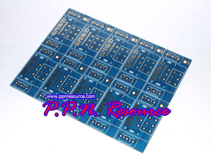 PCB Board Alps RK16 , RK27