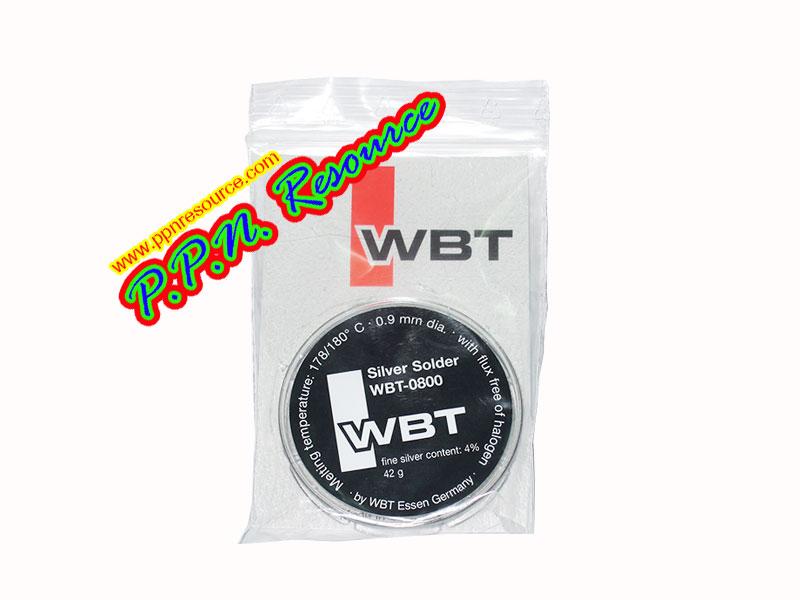 ตะกั่วบัดกรีผสมเงิน WBT-0800