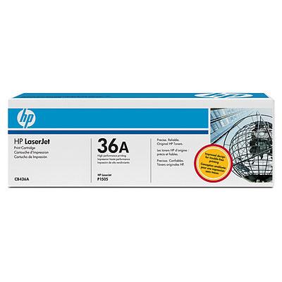 Black Toner Cartridge CB436A for HP LaserJet P1505