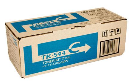 ผงหมึก TK-544C สำหรับ Kyocera FS-C5100DN