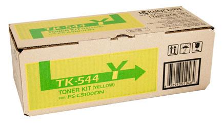 ผงหมึก TK-544Y สำหรับ Kyocera FS-C5100DN