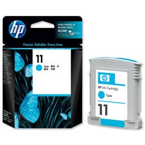 HP C4836A ( HP 11 ) Cyan Ink Cartridge