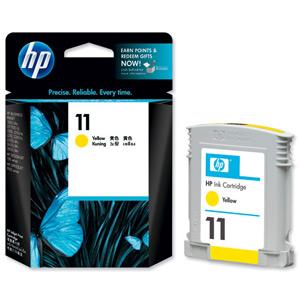 HP C4838A (HP 11) Yellow Ink Cartridge