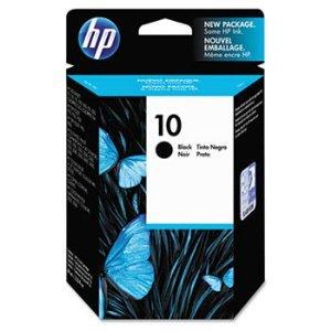 HP C4844A (HP 10) Black Ink Cartridge