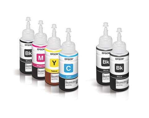 EPSON BLACK INK FOR L100/L200/L110/L120/L210/L220/L300/L310/L350/L355/L365/L455/L360/L380/L385/L405