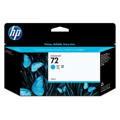 HP 72 130-ml Cyan Ink Cartridge (C9371A)