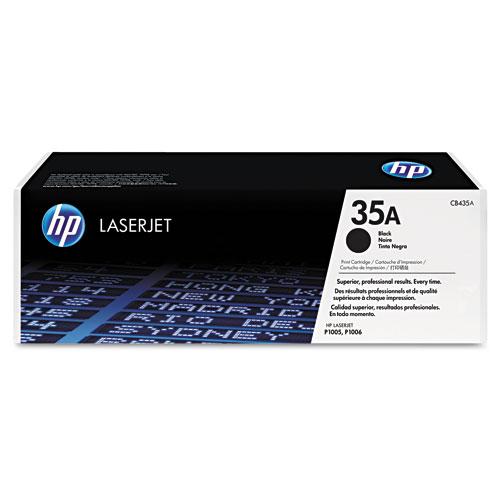 HP Black Toner CB435A LaserJet P1006 , P1005