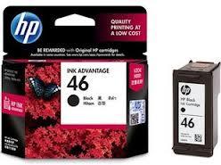 HP 46 Black Ink Cartridge  (CZ637A)