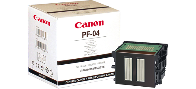 Print Head PF-04 (for iPF650/750/760/765)