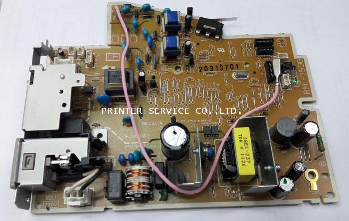ENGINE CONTROL PCB ASSY LASERJET P1102W