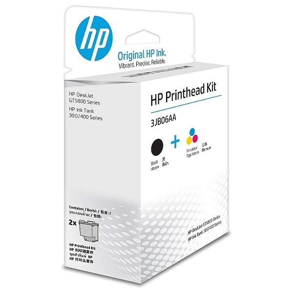 HP PRINT HEAD TRI COLOR/BLACK DESKJET GT5810/GT5820/HP INK TANK WIRELESS 415/410