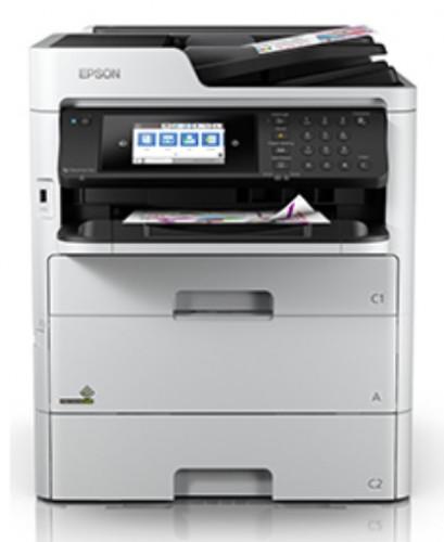 เครื่องถ่ายเอกสารสี Epson WorkForce Pro WF-C579R Duplex All-in-One Inkjet Printer หมึกกันน้ำทั้ง 4 ส