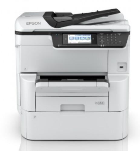 เครื่องถ่ายเอกสารสี ขนาด A3  WorkForce Pro WF-C878R  Colour Multifunction Printer