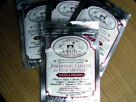 ผ้า CAPE COD FOIL POUCH 174; METAL POLISHING CLOTHS
