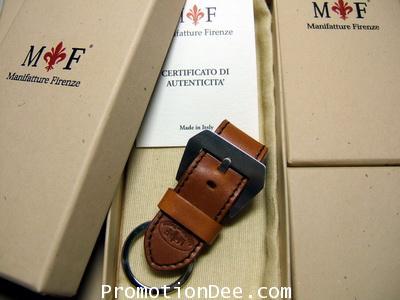 K1-222 Light brown calf leather Keyholder (brown stitch)