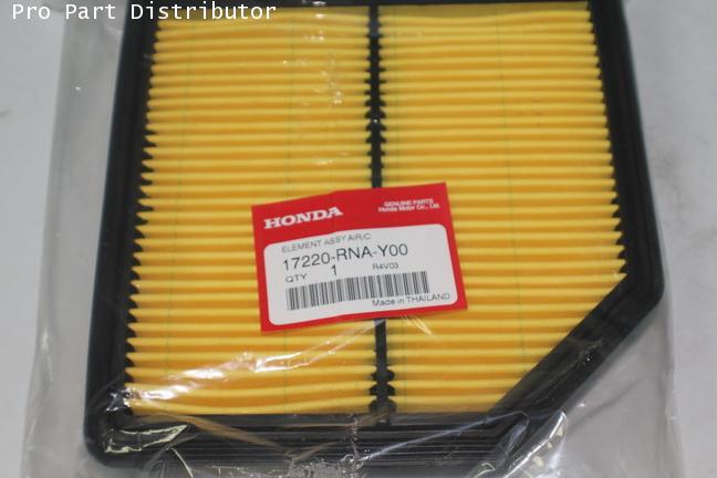 ไส้กรองอากาศ อะไหล่แท้ ฮอนด้า ซีวิค HONDA CIVIC 2006-2009 1.8 อะไหล่แท้(รหัสอะไหล่แท้ 17220-RNA-Y00)