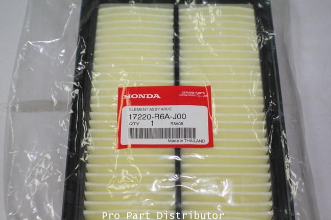 ไส้กรองอากาศอะไหล่แท้ ฮอนด้า ซีอาร์วี HONDA CR-V (รหัสอะไหล่แท้ 17220-R6A-J00) อะไหล่แท้ฮอนด้า PPD