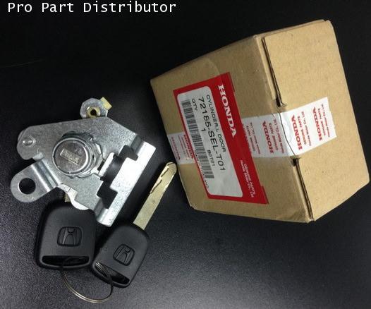 ชุดกุญแจประตู ฮอนด้า ซิตี้ HONDA LH CITY 2003-06 อะไหล่แท้รถยนต์ฮอนด้าซิตี้(รหัสอะไหล่72185-SEL-T01)