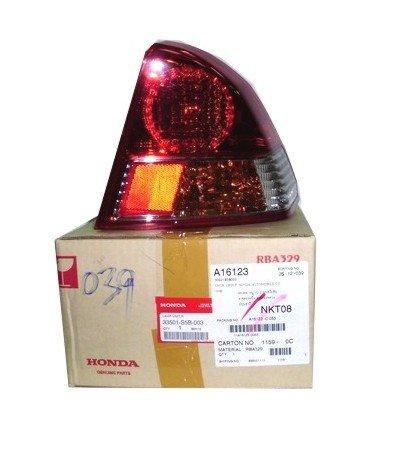 เสื้อไฟท้าย ข้างขวา ฮอนด้า แจ๊ซ RH HONDA JAZZ 2004-05 อะไหล่แท้รถยนต์ ฮอนด้า(รหัส 33501-SAA-003)